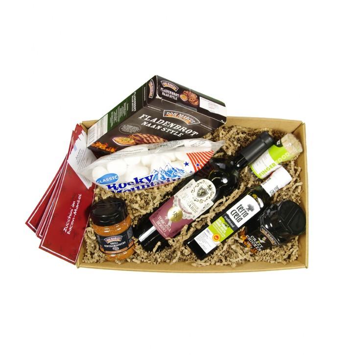 Angrillen - Geschenkpaket mit/ohne Alkohol